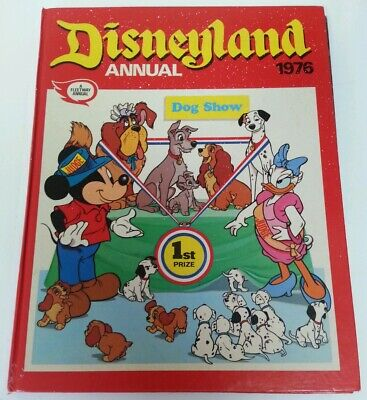 ANNUAL - Vintage Disneyland Annual 1976 A Fleetway Annual Official Hardback Book • 2.45£