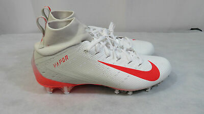 9b8823c84f7 Nike Vapor Untouchable Pro 3 Football Cleats Size 9 White Ar0345-008 •  79.99