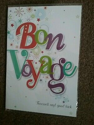£0.99 • Buy Bon Voyage Card Brand New And Sealed