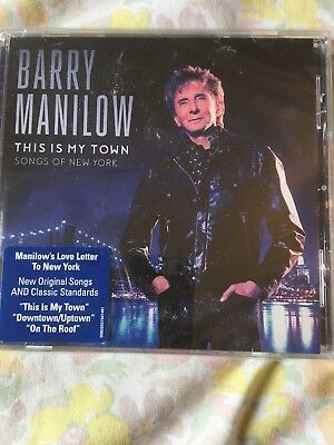 Barry Manilow Cd This Is My Town • 3£