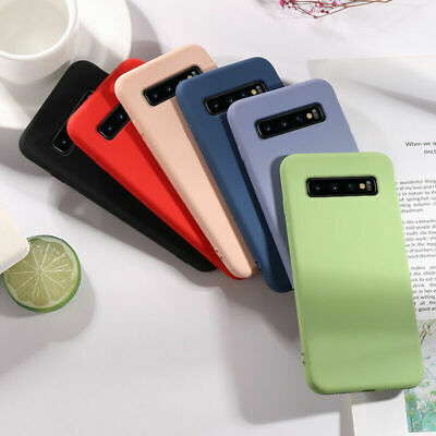 $ CDN3.62 • Buy For Samsung Galaxy S8 S9 S10 Note 10 Plus Liquid Soft Silicone Phone Case Cover