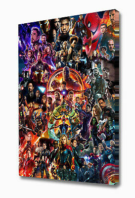 Ez1688 Large The Avengers End Game Canvas • 24.99£
