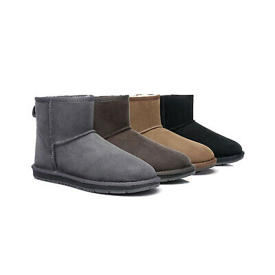 AU69 • Buy [17%OFF] UGG Boots Australian Sheepskin Genuine Mini Nappa Black Water Resistant