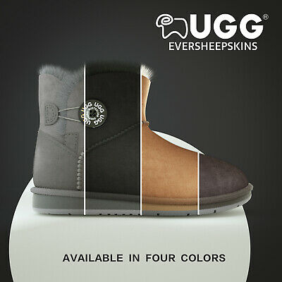 AU79 • Buy UGG Boots Mini Button With Crystal Ladies Water Resistant Clearance Sale