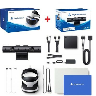 AU584 • Buy Sony Playstation VR Headset PS VR Virtual Reality Controller + PS4 Camera Bundle