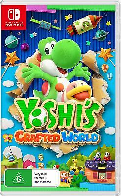 AU99 • Buy Yoshi's Crafted World Nintendo Switch NS Platformer Role Play Adventure Game