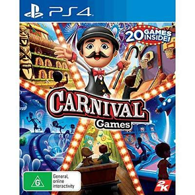 AU99 • Buy Carnival Games 20 Family Kids Fun Party Game Compilation Sony Playstation 4 PS4