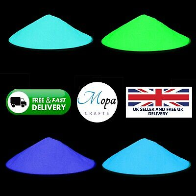 £1.99 • Buy High Quality Glow In The Dark Pigment Powder For Paint,Nail,Art,Crafts, Acrylic