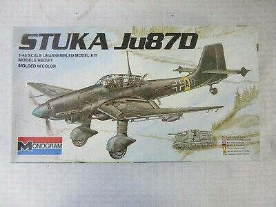 $24.99 • Buy Vintage Monogram 1/48 Stuka Ju870 Model Kit, #6840