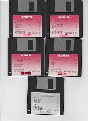 $50 • Buy Ensoniq Eps Sound Library Vol #1 Eps  / Eps16+ / Asr 10/88 (10) Disk Set