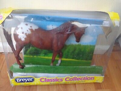 Traditional Breyer 1/12 Classics Collection - Chestnut Appaloosa No.937 • 18.99£