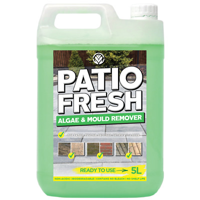 View Details GardenersDream Patio Cleaner 5L - Ready To Use Outdoor Algae & Mould Remover • 12.89£