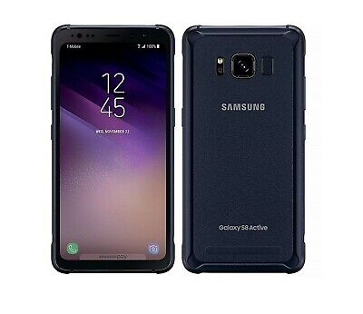 $ CDN155.64 • Buy Samsung Galaxy S8 Active 64gb Meteor Gray AT&T Unlocked Fully Works Discounted!