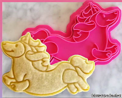 AU10 • Buy Dachshund Sausage Dog Unicorn Cookie Cutter Doxie Cute Biscuit Baking Fondant