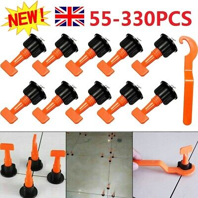 £14.99 • Buy 55 - 330pcs Reusable Tile Leveling System Floor Wall Leveler Construction Tools