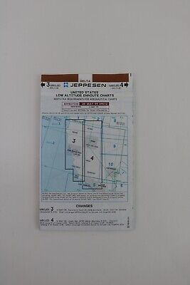 Jeppesen United States May 1999 Low Altitude Enroute Charts 3 US(LO) US(LO) 4 • 8.39$