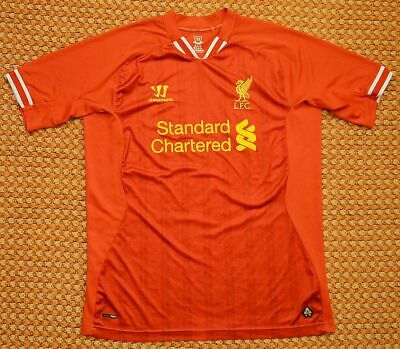 £17 • Buy 2013 - 2014 Liverpool FC, Home Shirt By Warrior, Mens XL