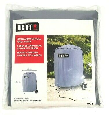 $ CDN14.86 • Buy Weber Standard Charcoal Grill Cover #4701 Fits 22.5  Inch Grey New