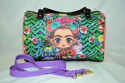 $27.99 • Buy Frida Kahlo Bag Handbag New Purse 100% Mexican Art