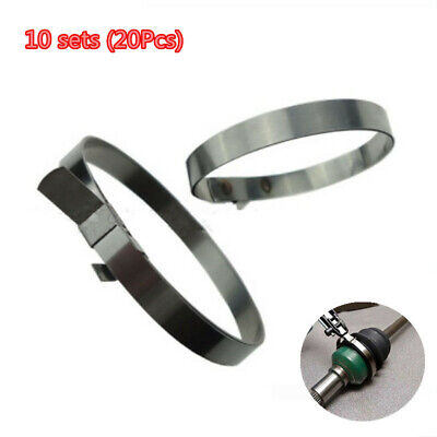 $13.20 • Buy Car Adjustable Axle CV Joint Boot Clamp Drive Shaft Boot Clamps Stainless Steel