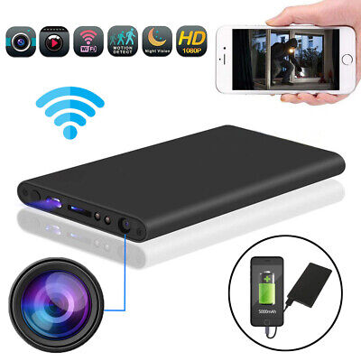 View Details DV Power Bank Spy Hidden Camera Night Vision DVR WiFi Recorder Security 5000mAh  • 36.59£