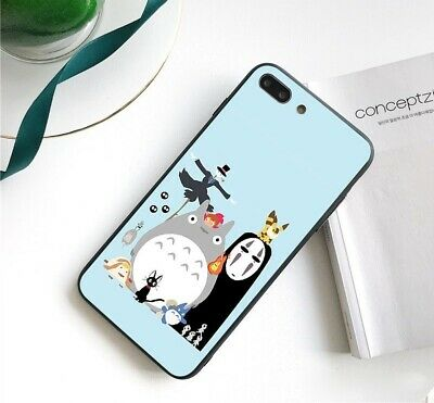 My Neighbor Totoro Case Cover IPhone 5 6 6S 7 8 + X XR XS 11 Pro Max SE 2nd Gen • 6.38£