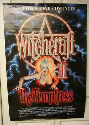 $ CDN26.09 • Buy Movie Posters:  Witchcraft II The Temptress , Very Rare!