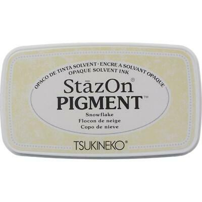 STAZON PIGMENT INK PAD - MULTISURFACE USE - 12 Colour Choices • 5.99£