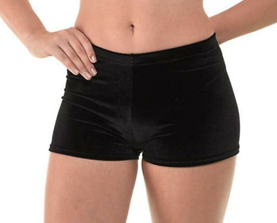 £11.99 • Buy Tappers And Pointers Smooth Velvet Hipster Micro Shorts Gymnastics Dance Cheer