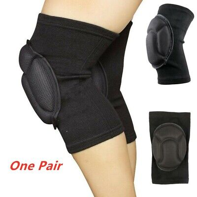 One Pair Professional Knee Pads Construction Work Safety Gel Pair Leg Protectors • 5.99£