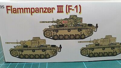 Dragon 9113 Flammpanzer III   W/Sturmpionier  1/35th German Orange Series • 45.95£