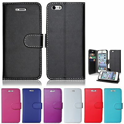 Pu Leather Wallet Flip Book Protect Mobile Phone Case Cover For  Huawei Y6 2019 • 3.96£