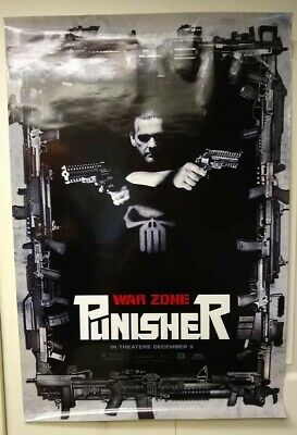 $ CDN30.49 • Buy Movie Posters: Punisher War Zone, Looks Great, Good Condition, Very Cool!