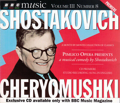 £7.09 • Buy Shostakovich ‎– Cheryomushki (A Musical Comedy) (CD, BBC Music Magazine)