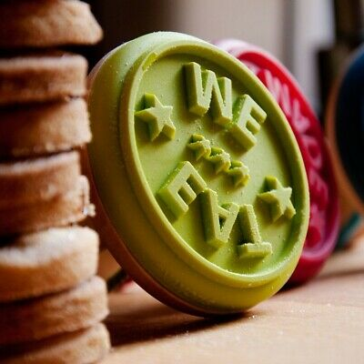 £4.95 • Buy  Eat Me  Cookie Stamper - Silicone Biscuit Pastry Icing Stamp Cookie Decoration