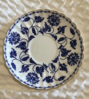Spode Blue Colonel Saucer For Demitasse Cup EXCELLENT • 7.97£