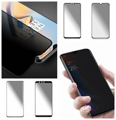 AU4.59 • Buy Anti-Spy Privacy Tempered Glass For OnePlus 5T/6/6T/7/7 Pro Screen Protector Aa
