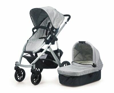 $395 • Buy UPPABABY VISTA STROLLER 2010 With Bassinet Yellow