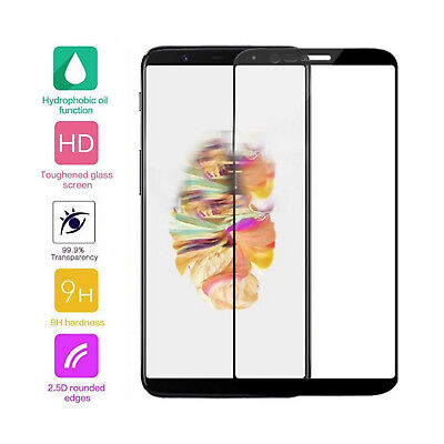 AU16.03 • Buy 3 × For OnePlus 5T Full Edge Cover Tempered Glass Screen Protector Film