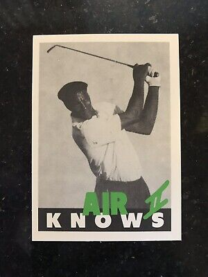 Michael Jordan Golf Card