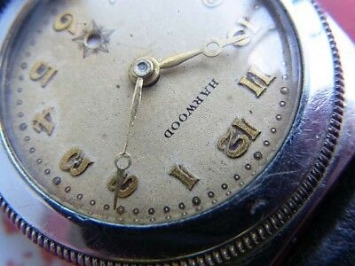 £1464.41 • Buy Rare! HARWOOD Antique 1920's World First Automatic Watch Half Roter Overhauled