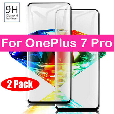 AU3.99 • Buy For OnePlus 7 Pro 6T 6 5T 5 3T Full Cover Tempered Glass Screen Protector-SL