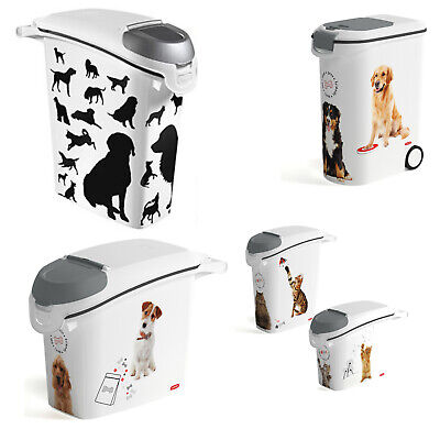£9.64 • Buy Cat Dog Food Container Storage Box Litter Animals High Quality Various Sizes