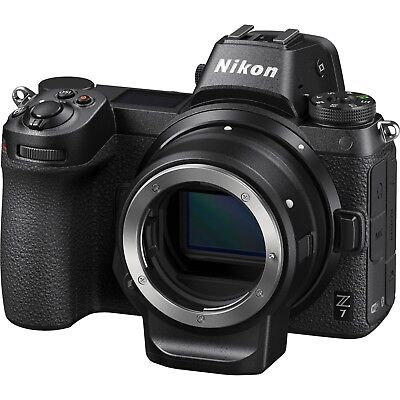 $2846.90 • Buy NEW! Nikon Z7 Mirrorless Digital Camera With FTZ Mount Adapter Kit USA Model