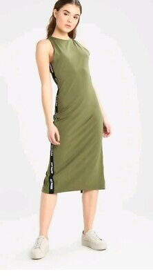 £39.99 • Buy BEYONCE IVY PARK Khaki Tape Dress. Size XS. BRAND NEW WITH TAGS!!!