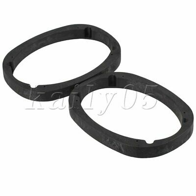 AU47.27 • Buy 2P 6x9  Universal Car Vehicle Stereo Speaker Spacer Adapter Mount  Hard Plastic