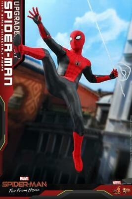 $ CDN413.99 • Buy Hot Toys MMS542 1/6 Far From Home Spiderman Upgrade Battlesuit Figure Model Toy