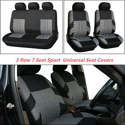 $ CDN87.09 • Buy 3 Row 7 Seat Washable Sport Universal Seat Covers Fits All Standard Car Seats