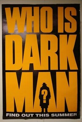 $ CDN26.09 • Buy Posters, DARKMAN, AWESOME MOVIE, COOL POSTER, Sides Kind Of Worn But Still Good!