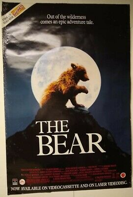 $ CDN29.16 • Buy Movie Posters, The Bear, Cool Tag In Left Hand Corner, Ad, Some Wear But Cool